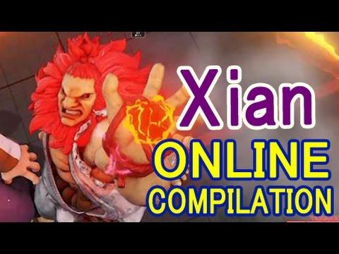 【スト5】SF5 ▰ Xian(豪鬼) シーズン2に降臨!【Xian(Akuma) Online Compilation season2】
