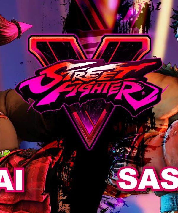【スト5】Ai Ai (Juri) VS Sakiki (Ryu) SF5 * FT2 (Best of 3)
