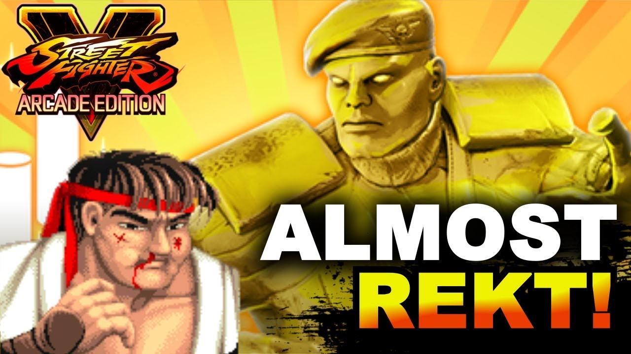 【スト5】SFV AE * Almost Rekt By Upper Class Shadaloo Soldier!