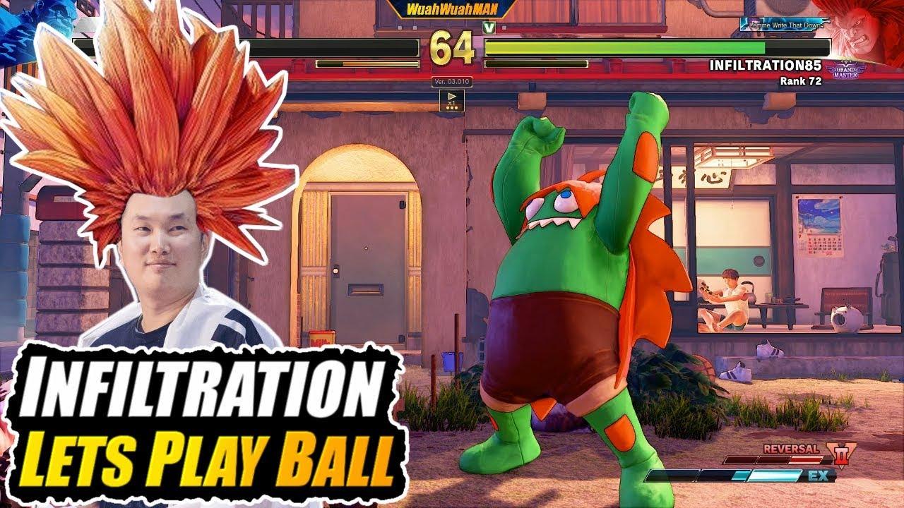 【スト5】SFV AE ➡️ INFILTRATION ➡️ Lets Play Blanka Ball