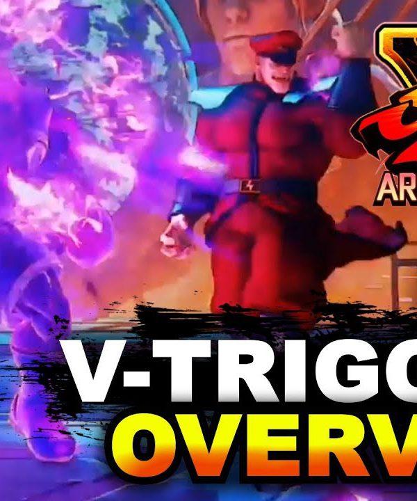 【スト5】SFV Arcade Edition New V-Triggers, New Abilities & Combo Extenders Overview