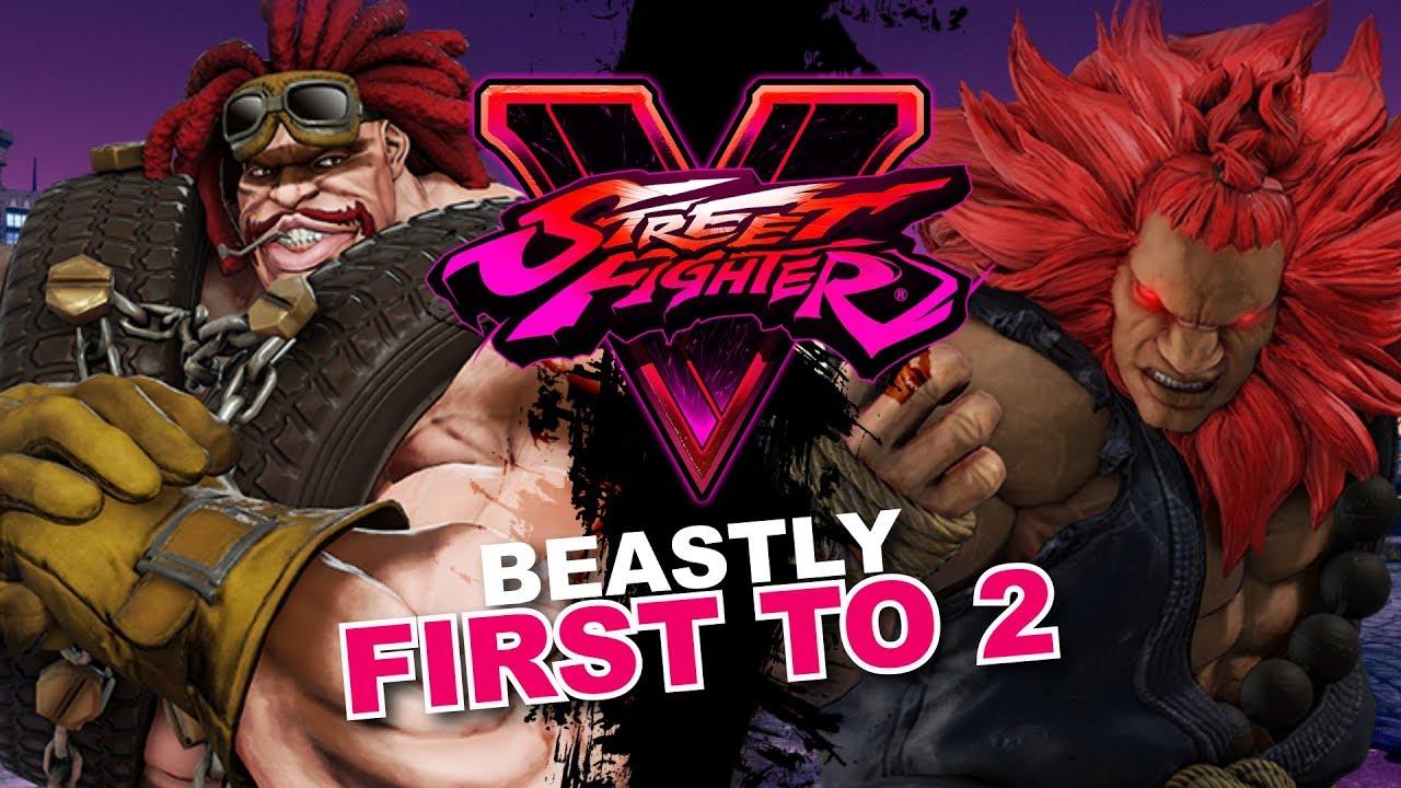 【スト5】SFV * Best Abigails VS Best Akumas / Tokido VS PoongKo / Sako VS StormKubo