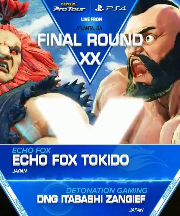【スト5】SFV: EF|Tokido vs DNG|Itabashi Zangief – Final Round XX Top 8 – CPT2017
