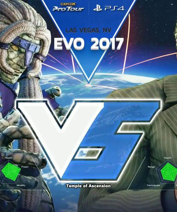 【スト5】SFV: EVO 2017 – Day 1 – Pools Part 10 – CPT2017