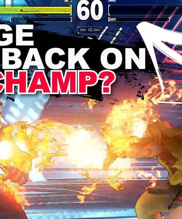 【スト5】SFV * EVO CHAMP Tokido VS Highest Ranked Ken / FT3