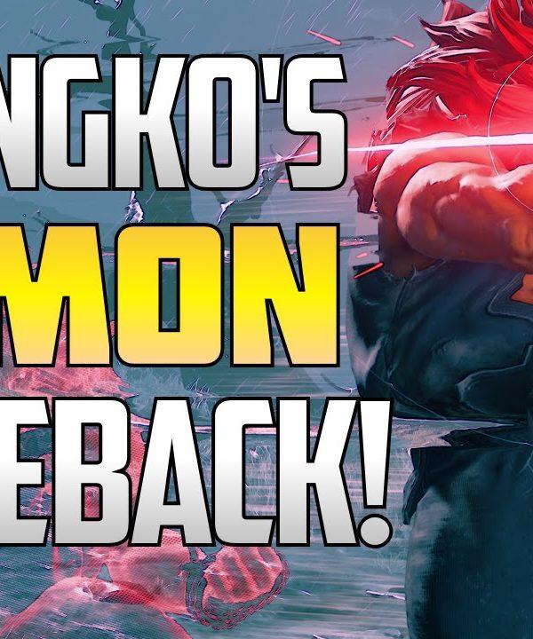 【スト5】SFV ▰ Poongko With The GODLIKE Demon Comeback【Akuma Highlights】Street Fighter V / 5