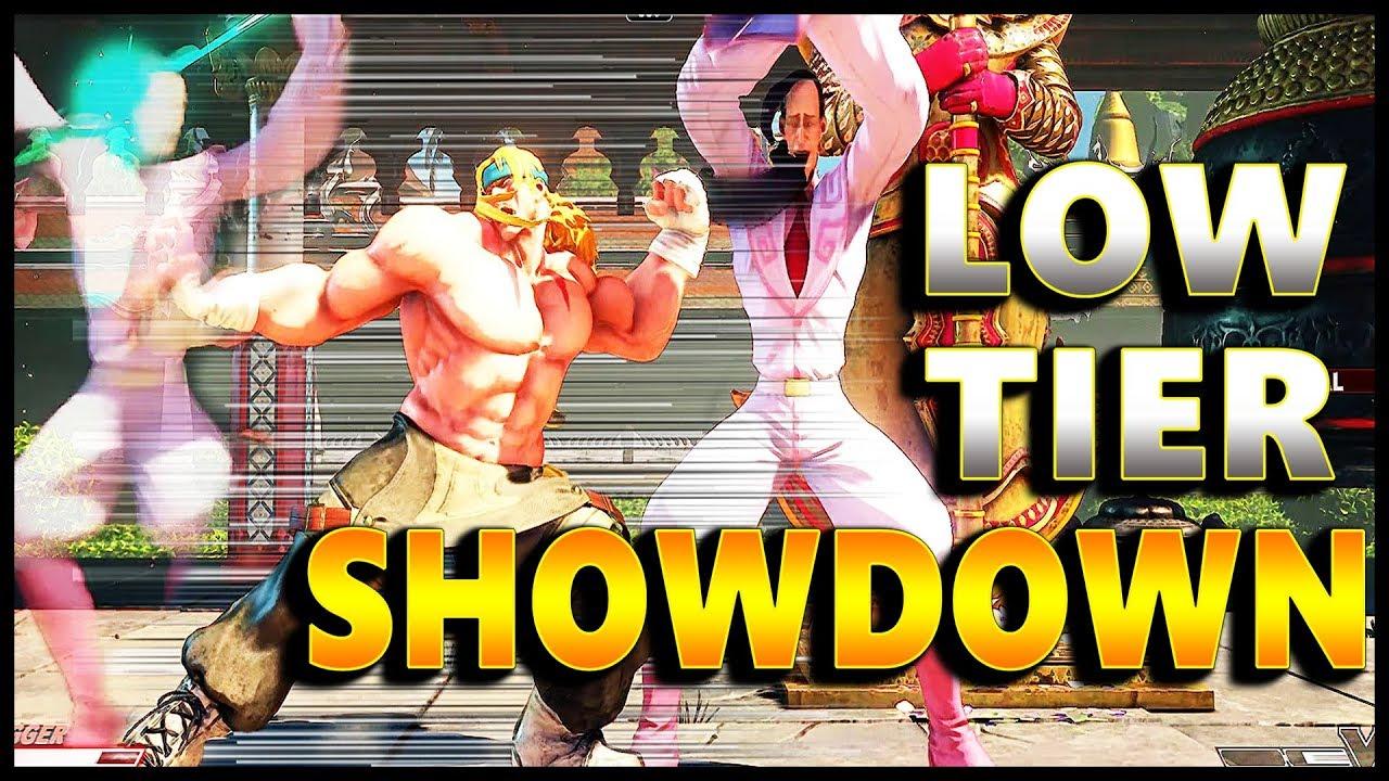 【スト5】SFV – The #1 Alex Vs The #1 Fang   Hype Low Tier Showdown – FT5 – SF5