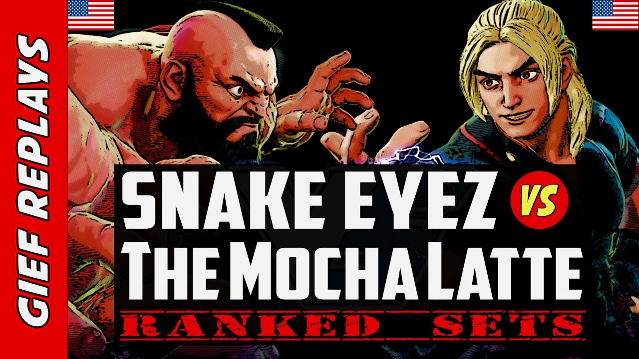【スト5】Snake Eyez vs TheMochaLatte's Ken ► Ranked ► 03.13.17