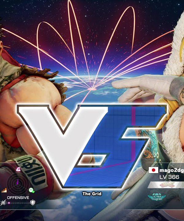 【スト5】ささき(リュウ)vs マゴ(かりん)