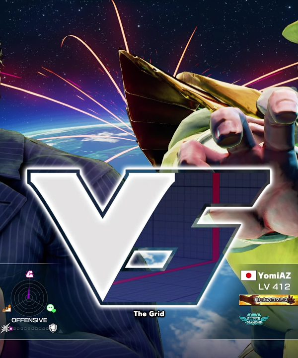 【スト5】ねも(ユリアン)vs YomiAZ(ベガ)