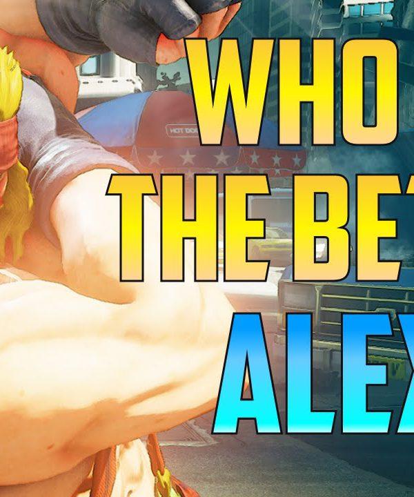 【スト5】リリースからずっとアレックス使ってるけど