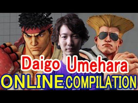【スト5】 ウメハラ リュウ&ガイルの豪華ラウンジ集【Umehara(Ryu & Guile) Online Compilation】