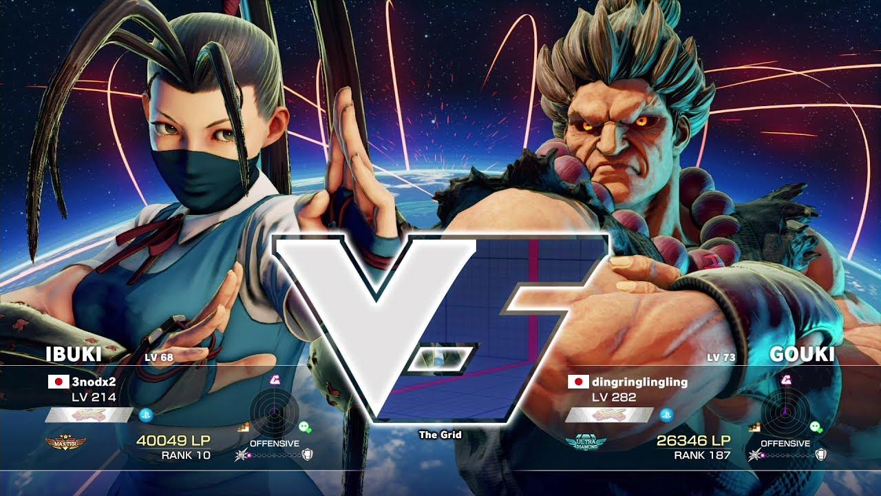 【スト5】3nodx2(いぶき)vs りんた(豪鬼)