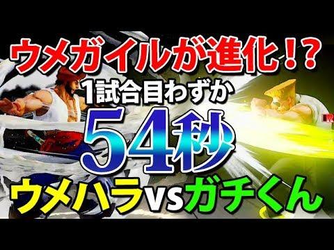 ウメガイルが強くなってる 見ごたえアリ でたパーフェクトゲーム ウメハラ Daigo Umehara vsがちくん スト5