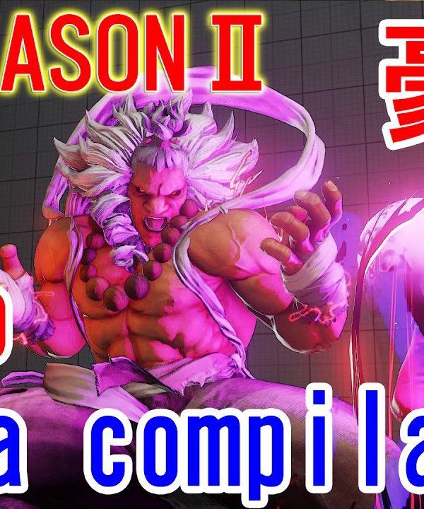 【スト5】SF5 S2 ▰ Sakoさん豪鬼のラウンジ集【Sako(Akuma) Online Compilation 】Part4