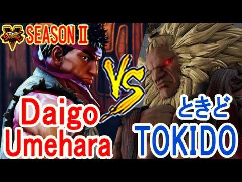 【スト5】SF5 S2 ▰ ウメハラ(リュウ) VS ときど(豪鬼) 目が離せない!【Umehara(ryu) vs Tokido(Akuma)】