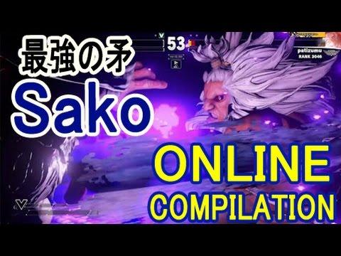 【スト5】SF5 ▰ Sako 豪鬼の強すぎる初陣!【Sako(Akuma) Online Compilation season2】