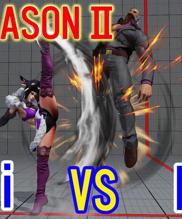 【スト5】SF5 Season2▰ aiai(Juri) VS Nemo(Urien)【アイアイ(ジュリ) VS ネモ(ユリアン)】