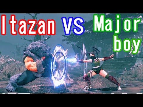 【スト5】SF5 season2▰ Itazan(Zangief) VS Majorboy(Ibuki)【これが新ザンギのキャラパワー!】
