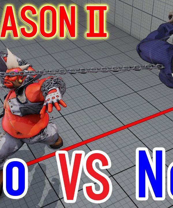【スト5】SF5 season2▰ Nemo(Urien) VS Inco(Birdie)【ネモVSいんこ タイステ村対決!】