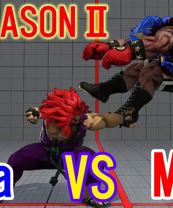 【スト5】SF5 Season2▰Esta(Akuma) VS Mago(Boxer) Rankedmatch 【エスタ(豪鬼)VSマゴ(バイソン)】