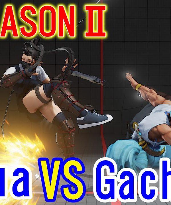 【スト5】SF5 season2▰Gachikun VS Acqua (Ibuki)【ガチくん(ラシード)VSあくあ(いぶき)】