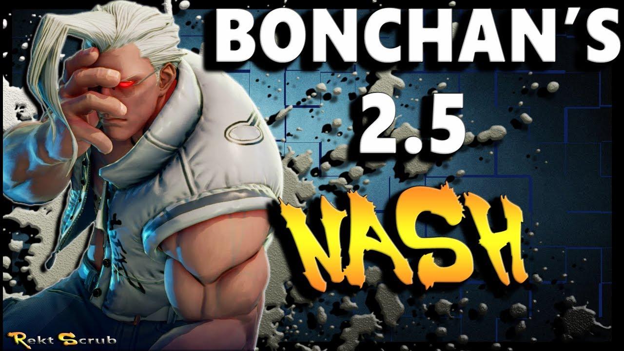 【スト5】A Buffed Bonchan ( Nash ) | Season 2.5 Compilation – SFV