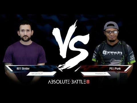 【スト5】【Absolute Battle 8】[ Grand Final ] 801 Strider(ララ)vs Punk(ユリアン・かりん)