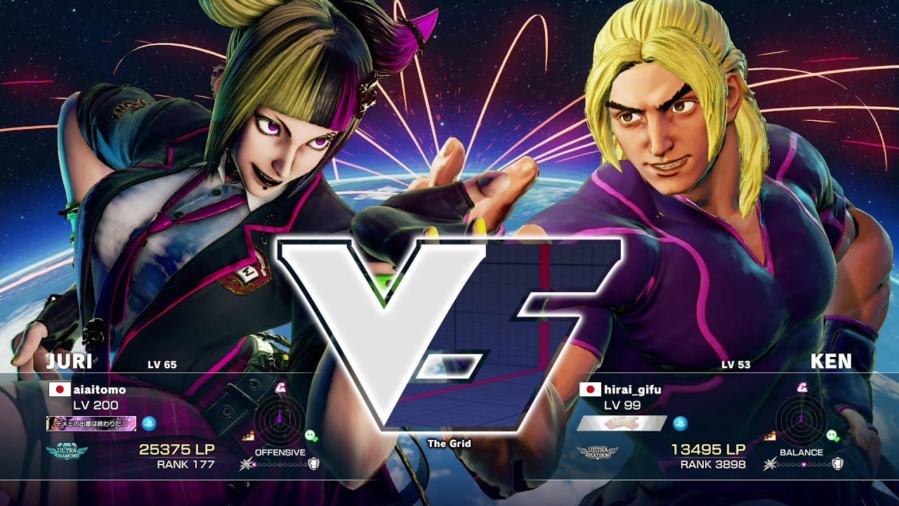 【スト5】aiai(ジュリ)vs ヒライ(ケン)