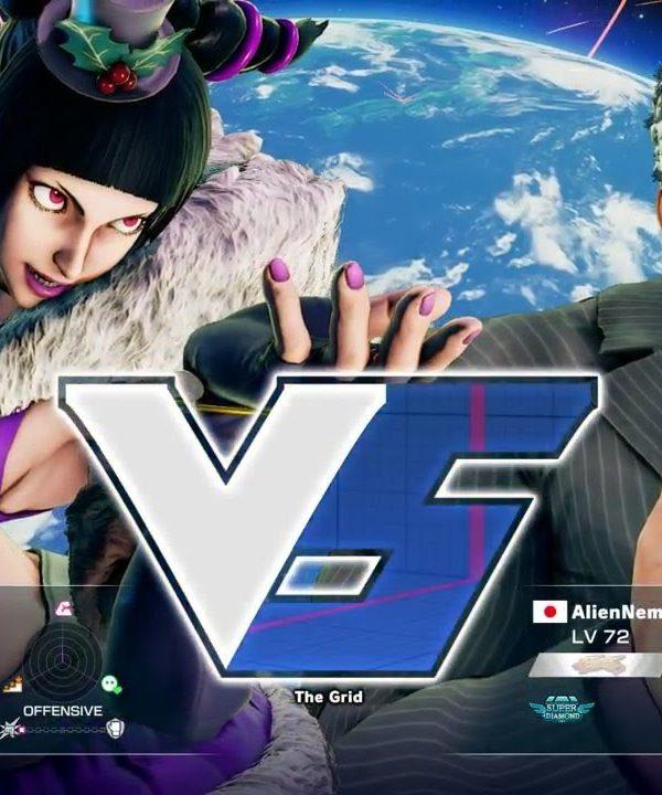 【スト5】aiai(ジュリ)vs ネモ(ユリアン)