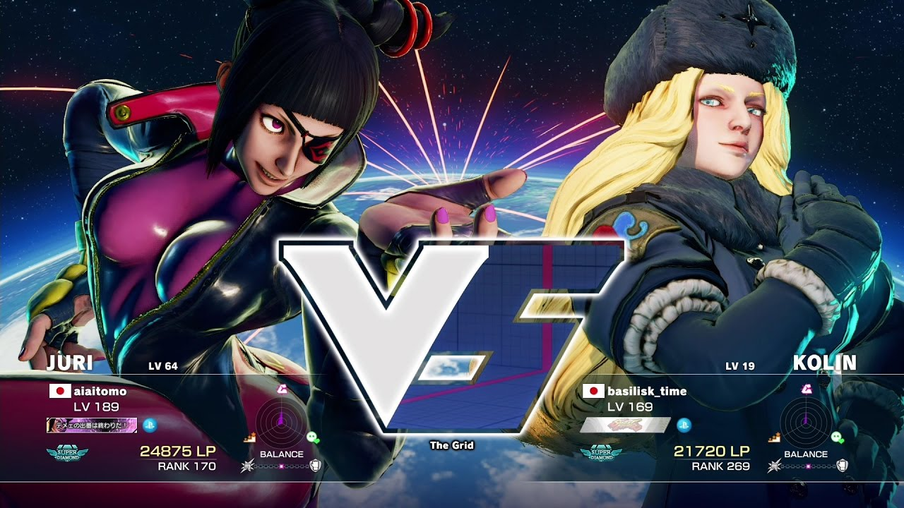 【スト5】aiai(ジュリ)vs GO1(コーリン)