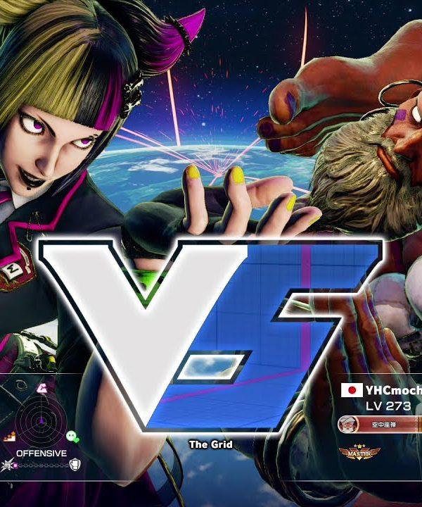 【スト5】aiai(ジュリ)vs YHC餅(ダルシム)