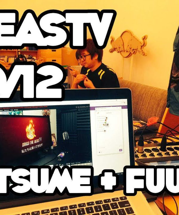 【スト5】BeasTV – 17/10/12 – Hatsume Training Session With Coach Fuudo!