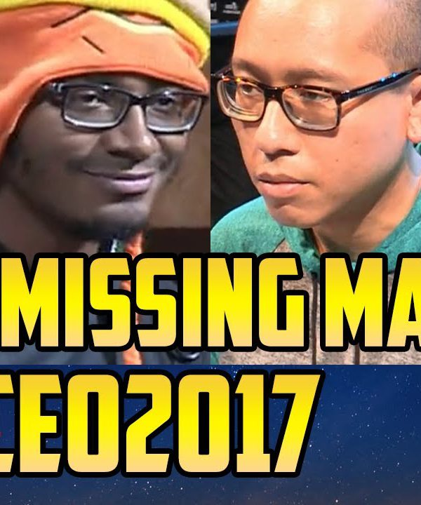 【スト5】CEO 2017 SFV TOP 8 Missing Matches (TIMESTAMP)