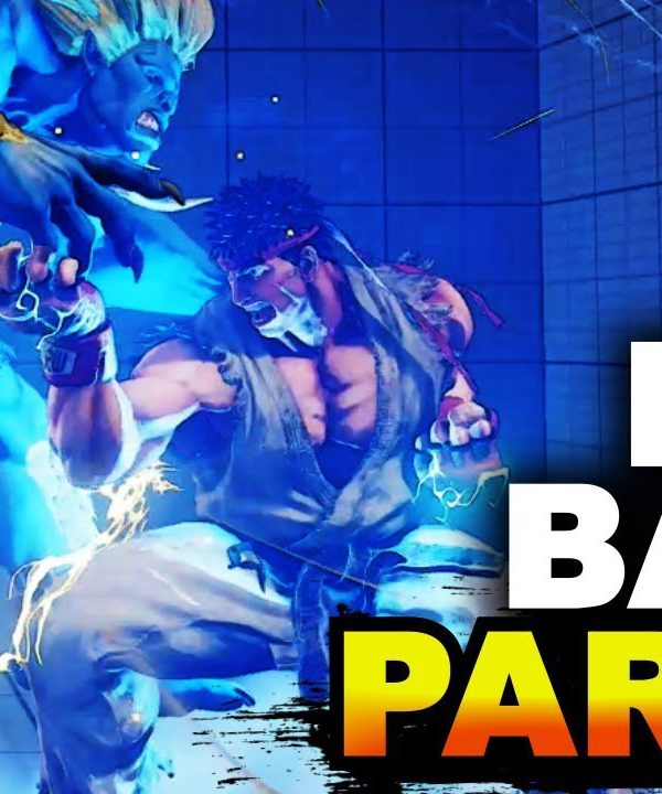 【スト5】Crazy Blanka Ball Parries & More! / Ryu & Blanka Savage Stream Highlights