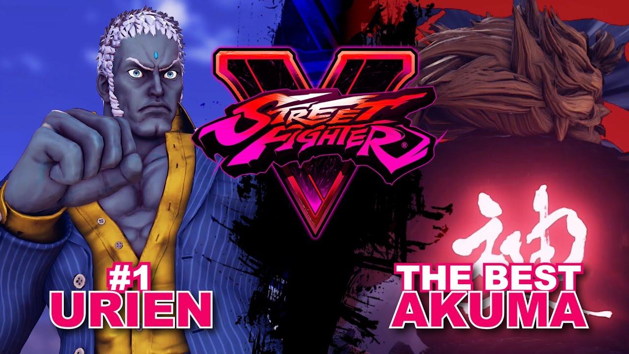 【スト5】Dogura (#1 Urien) VS Tokido (Akuma) SF5 * FT2 (Best of 3)