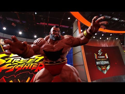 【スト5】ELEAGUE – SFV Invitational, Character Augmented Reality BTS