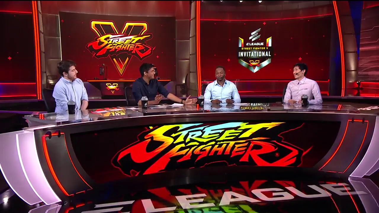 【スト5】ELEAGUE Street Fighter V Invitational //Group C