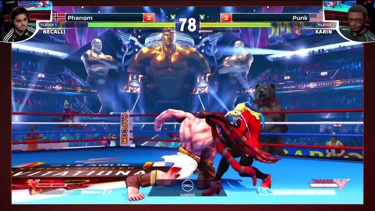 【スト5】ELEAGUE Street Fighter V Playoffs Rounds 3-4/Grand Final