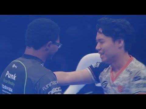 【スト5】[日本語実況]【EVO 2017】[ Grand Final 1 ] ときど(豪鬼)vs Punk(かりん)
