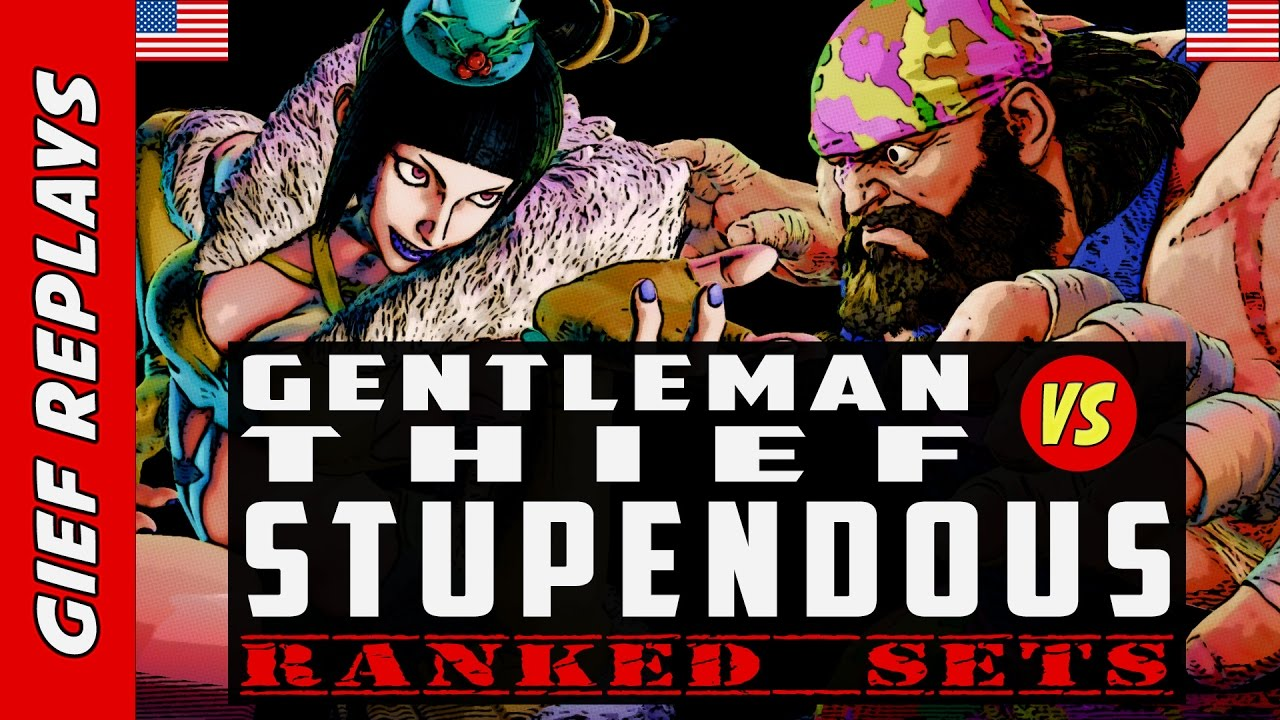 【スト5】GentlemanThief's Juri vs Stupendous ► Ranked ► 03.24.17