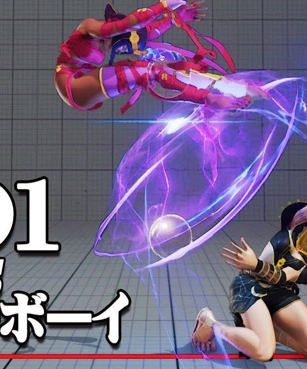 【スト5】GO1(メナト) vs メジャーボーイ(メナト) メナト同士の超テクニカル対決 上級対戦