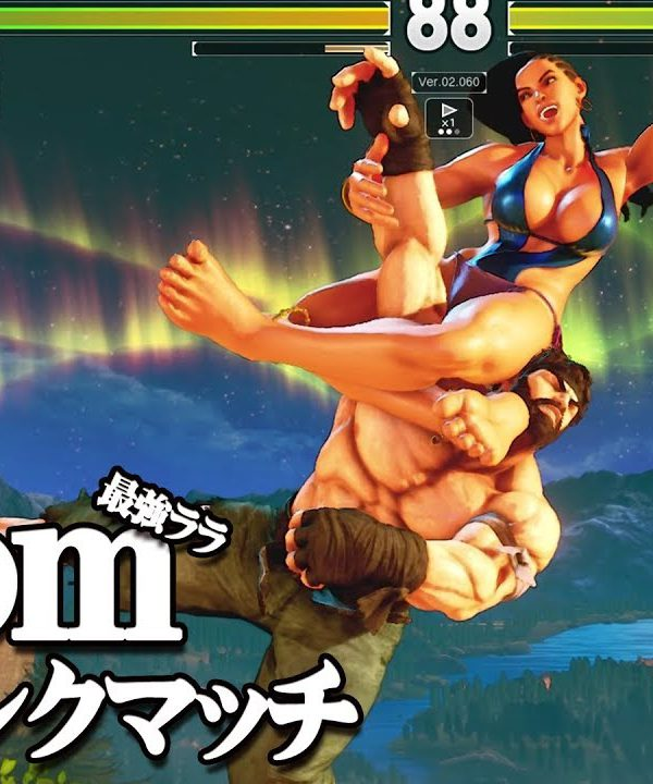 【スト5】究極の破壊ララ iDom 激うま電撃コンボ 上級ランクマッチ