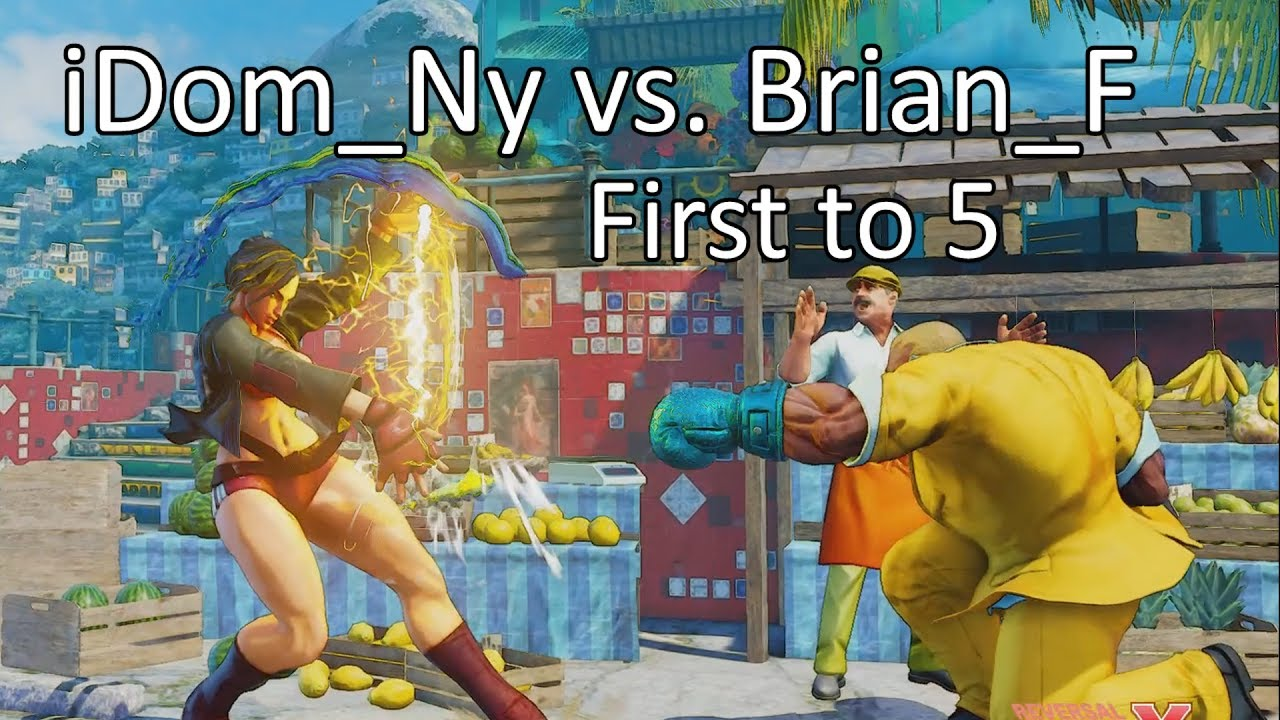 【スト5】iDom_NY (Laura) vs. Brian_F (Balrog) FT5