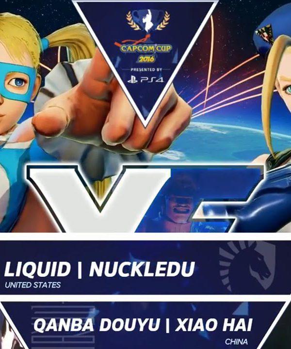 【スト5】Liquid NuckleDu vs Qanba Douyu Xiao Hai – Capcom Cup 2016 Day 1 Top 16 – CPT2016