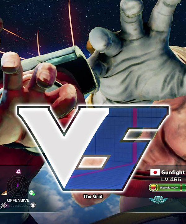 【スト5】magasi(ベガ)vs ガンファイト(アレックス)
