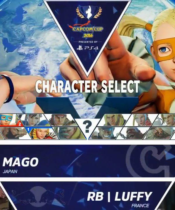 【スト5】Mago vs RB|Luffy – Capcom Cup 2016 Day 1 Top 32 – CPT2016