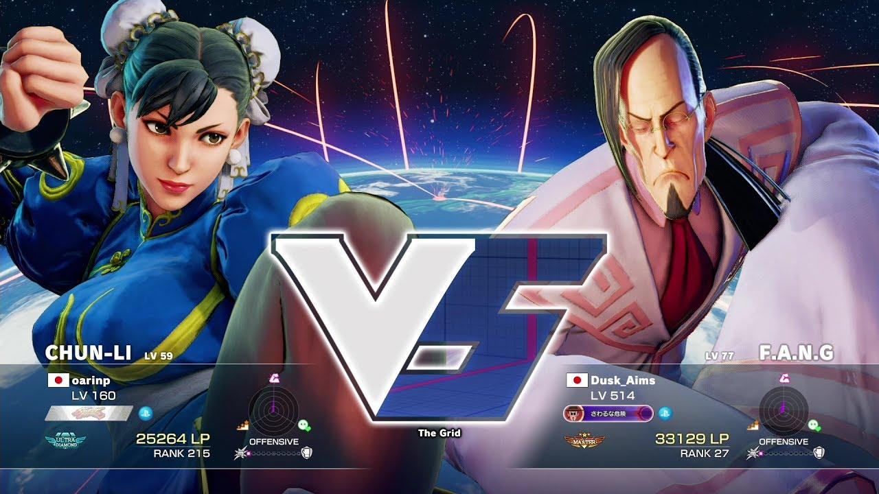 【スト5】oarinp(春麗)vs だすく(ファン)