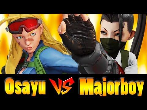 【スト5】Osayu(CAMMY) vs Majorboy(IBUKI) おさゆ vs メジャーボーイ