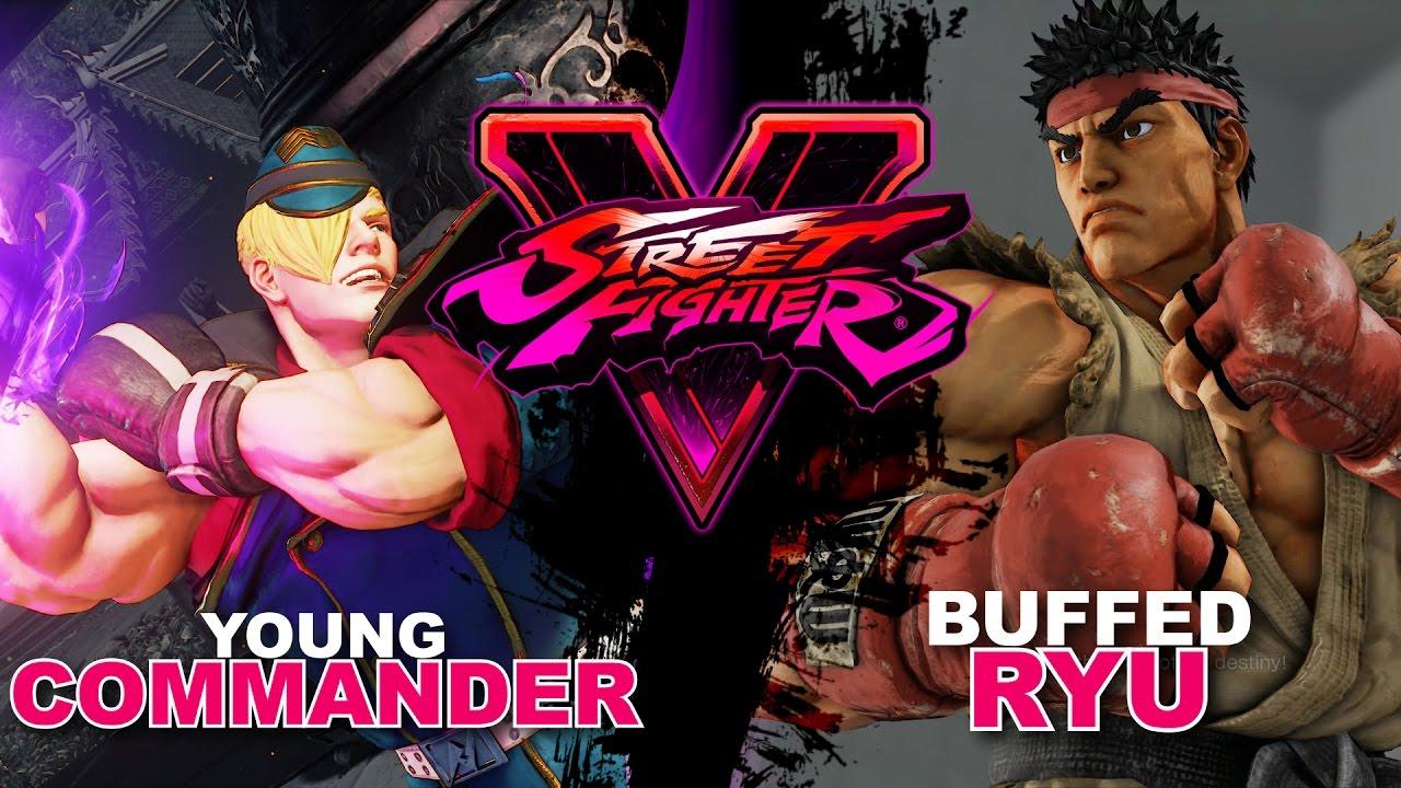 【スト5】PoongKo (Ed) VS OtaniRyu (Ryu) SF5 NEW BETA * FT3